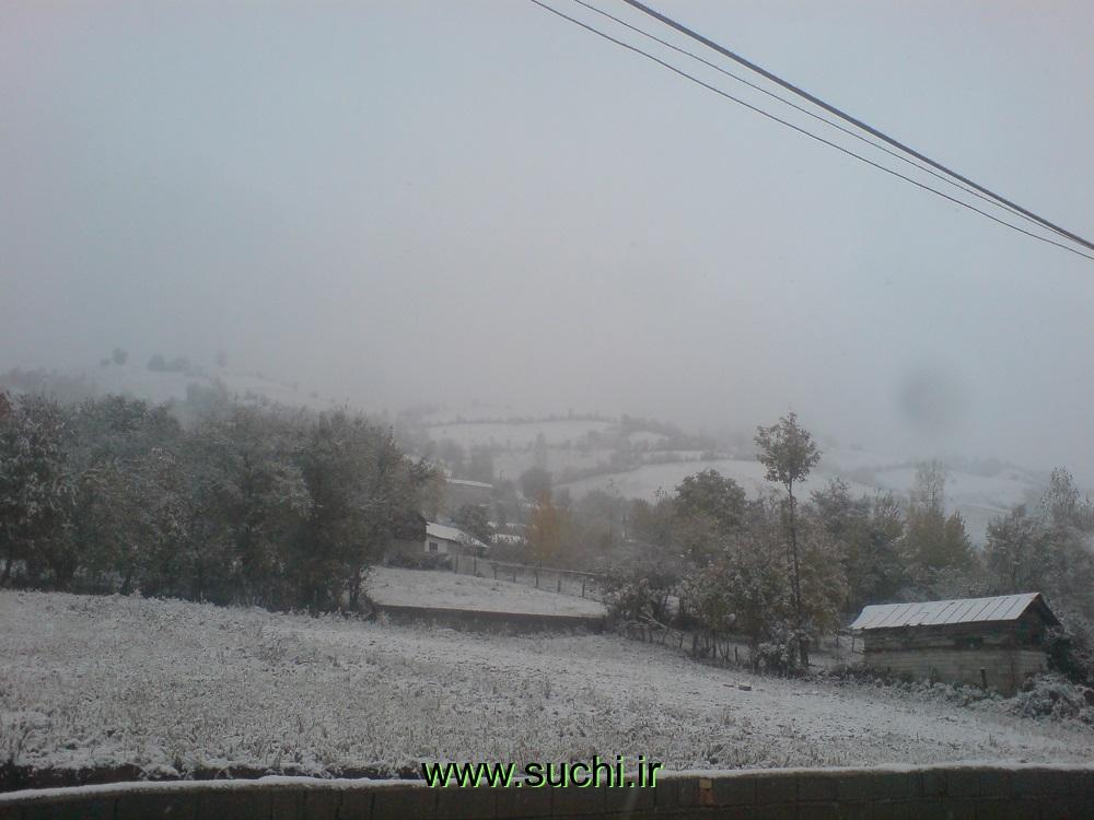 اولین برف پاییزی سوچلما