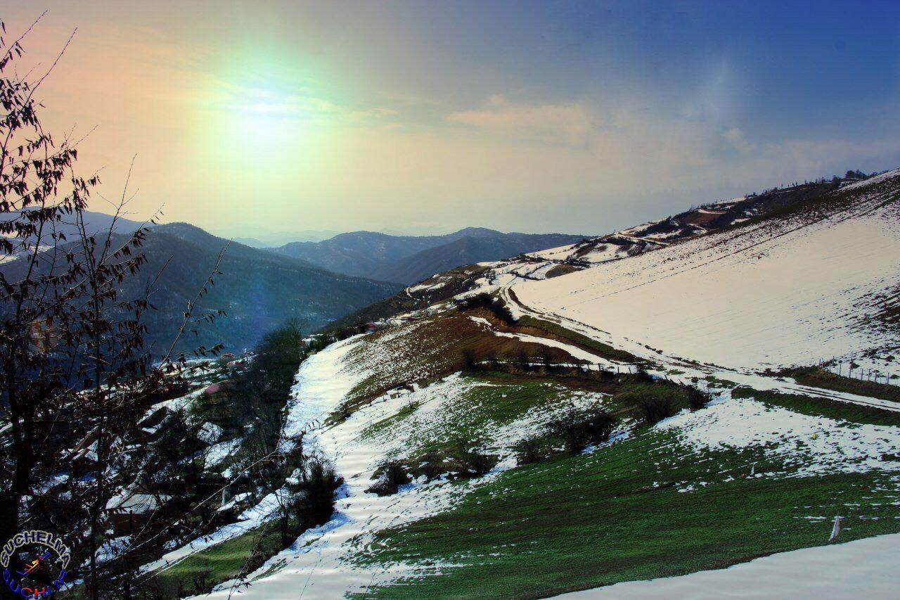 عکسهایی از زمستان 97 روستای سوچلما